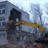 Методы сноса старых и заброшенных зданий