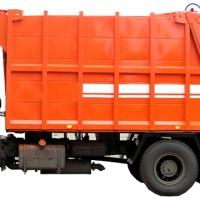 Накопившиеся большие объемы крупногабаритного мусора