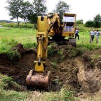 План работы на земельном участке при создании котлована