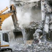 Механический метод сноса здания